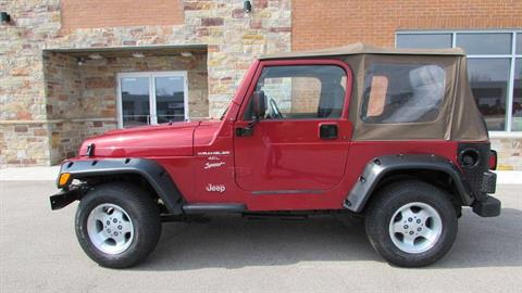 1999 Jeep Wrangler Sport in Big Bend, Wisconsin - Photo 3
