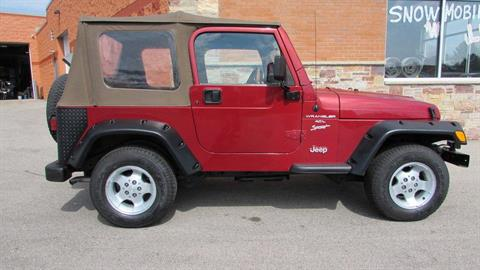 1999 Jeep Wrangler Sport in Big Bend, Wisconsin - Photo 8