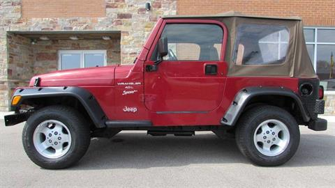 1999 Jeep Wrangler Sport in Big Bend, Wisconsin - Photo 11