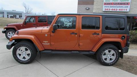2011 Jeep WRANGLER UNLIMITED SAHARA in Big Bend, Wisconsin - Photo 2