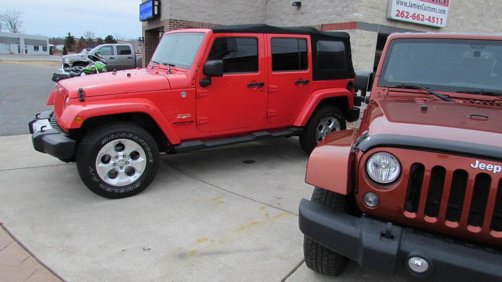 2011 Jeep WRANGLER UNLIMITED SAHARA in Big Bend, Wisconsin - Photo 8