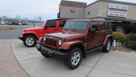2011 Jeep WRANGLER UNLIMITED SAHARA in Big Bend, Wisconsin - Photo 10