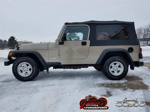 2004 Jeep® Wrangler Unlimited in Big Bend, Wisconsin - Photo 1