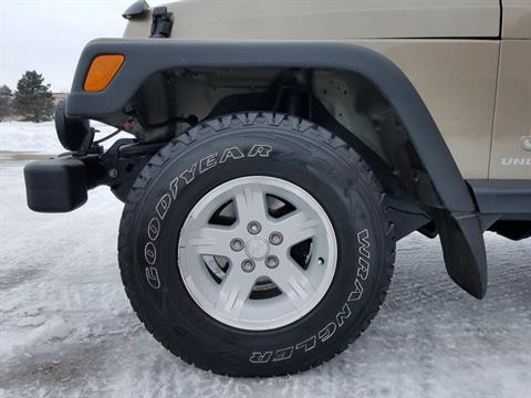 2004 Jeep® Wrangler Unlimited in Big Bend, Wisconsin - Photo 28
