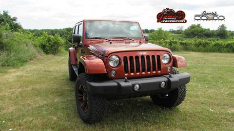2014 Jeep WRANGLER UNLIMITED SAHARA in Big Bend, Wisconsin - Photo 4