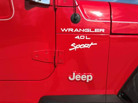 2000 Jeep® Wrangler Sport in Big Bend, Wisconsin - Photo 18