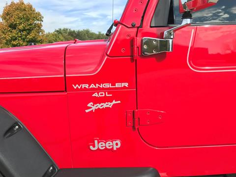 2000 Jeep® Wrangler Sport in Big Bend, Wisconsin - Photo 29