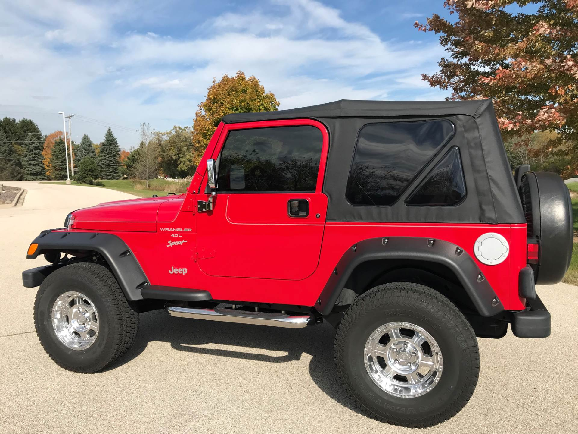 2000 Jeep® Wrangler Sport in Big Bend, Wisconsin - Photo 35