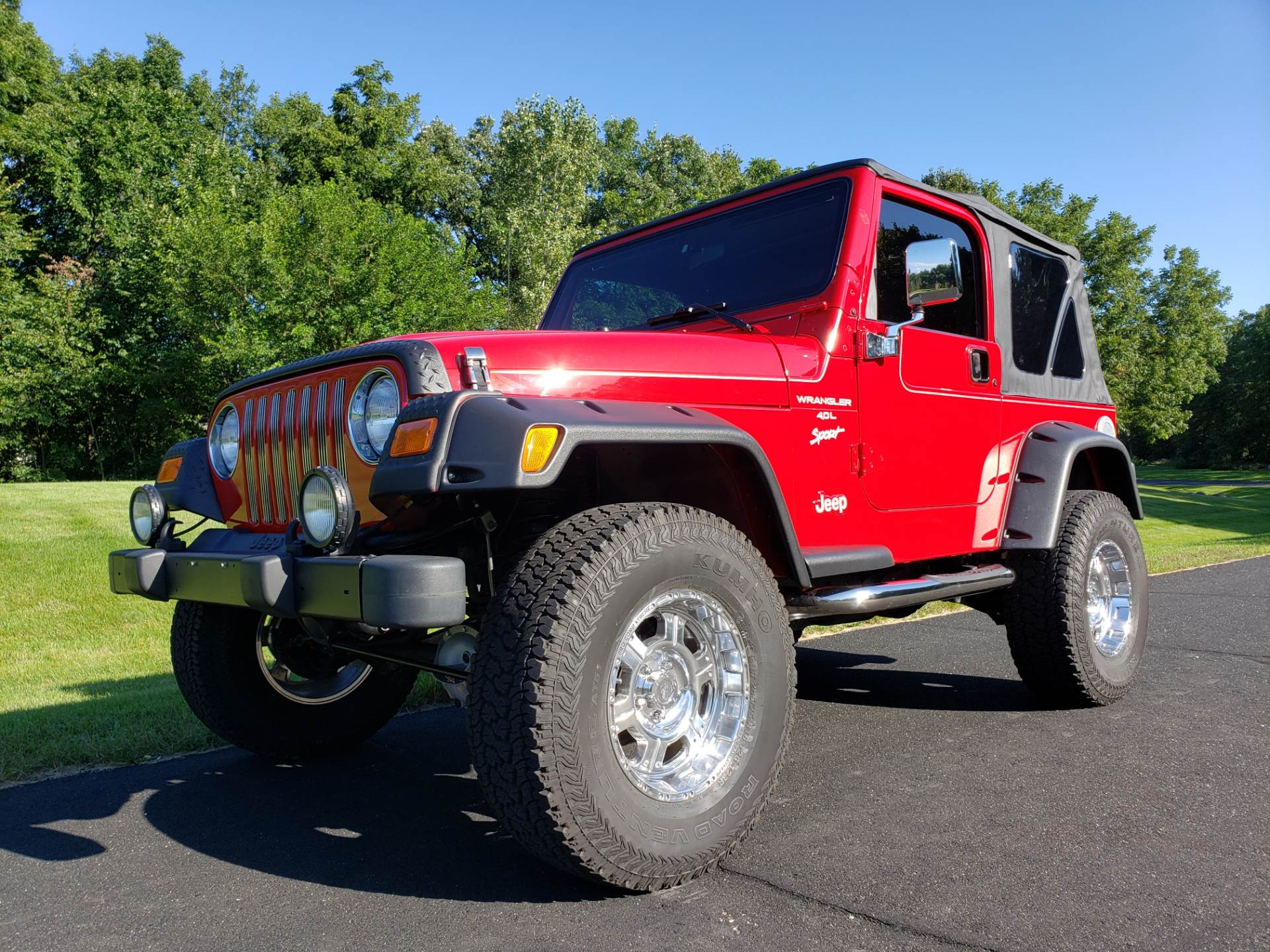 2000 Jeep® Wrangler Sport in Big Bend, Wisconsin - Photo 62