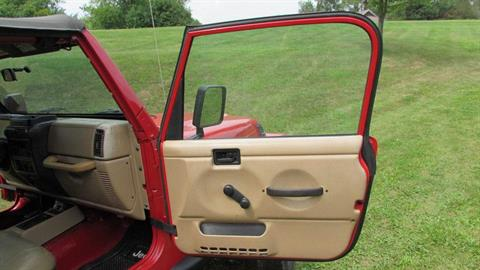 2000 Jeep WRANGLER SPORT 4X4 UTILITY 2 DR in Big Bend, Wisconsin - Photo 25