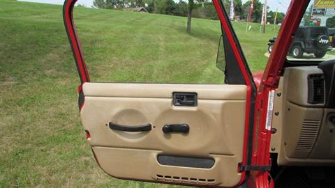 2000 Jeep WRANGLER SPORT 4X4 UTILITY 2 DR in Big Bend, Wisconsin - Photo 16