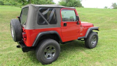 2000 Jeep WRANGLER SPORT 4X4 UTILITY 2 DR in Big Bend, Wisconsin - Photo 2