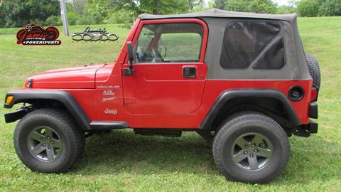 2000 Jeep WRANGLER SPORT 4X4 UTILITY 2 DR in Big Bend, Wisconsin - Photo 3