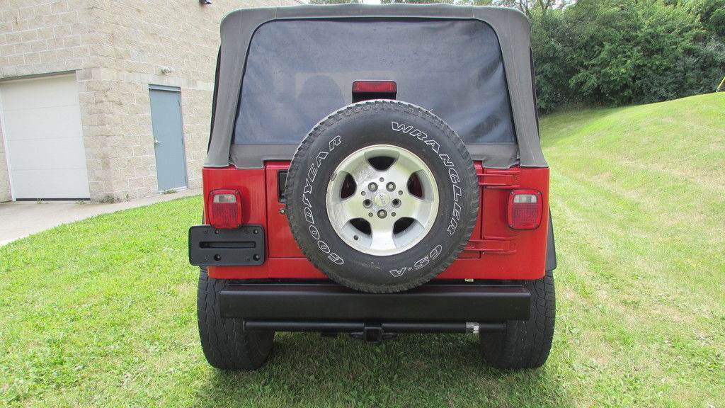 2000 Jeep WRANGLER SPORT 4X4 UTILITY 2 DR in Big Bend, Wisconsin - Photo 9