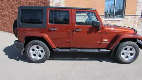 2014 Jeep WRANGLER UNLIMITED SAHARA in Big Bend, Wisconsin - Photo 3