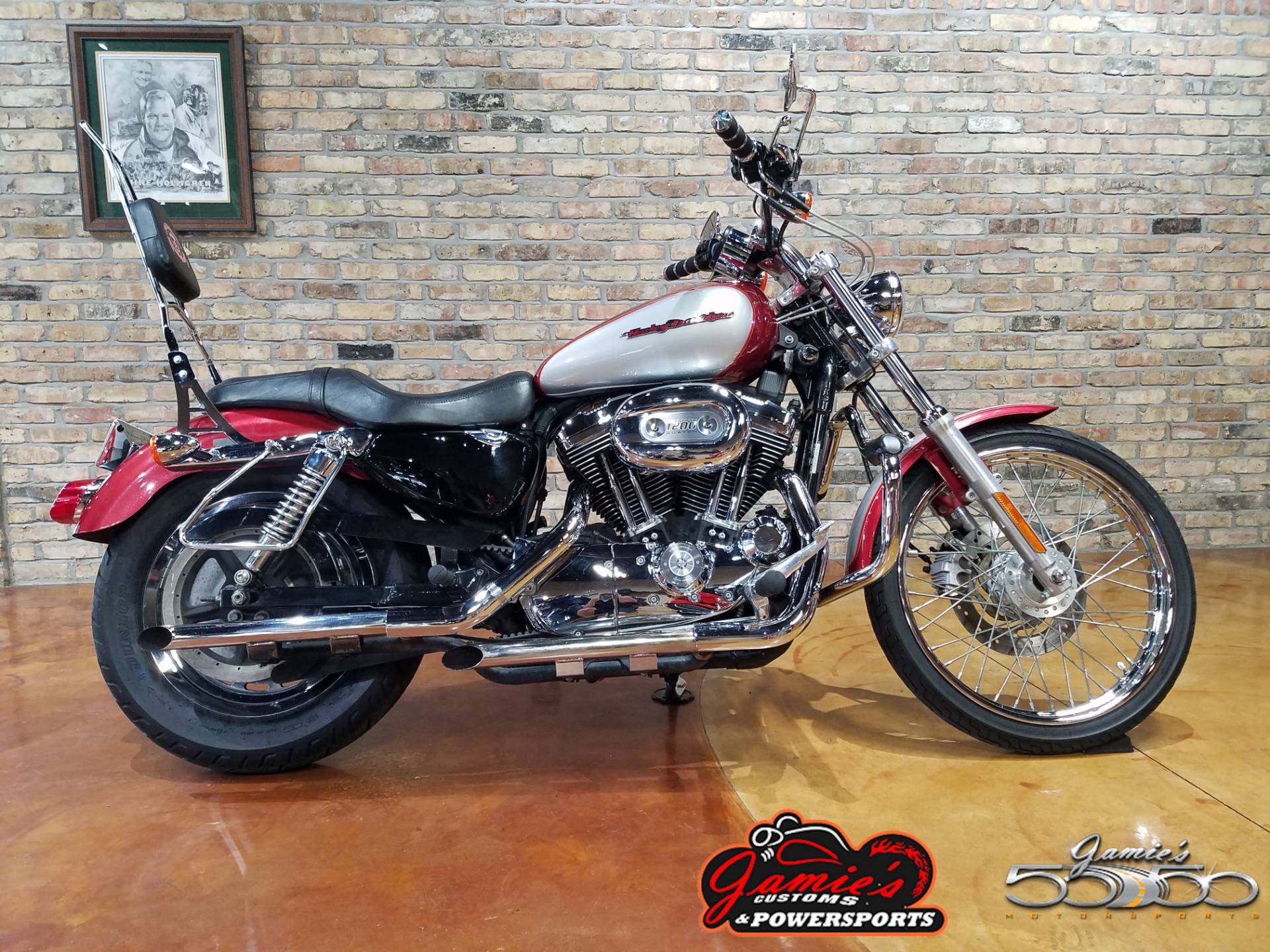 2004 Harley-Davidson Sportster® XL 1200 Custom in Big Bend, Wisconsin - Photo 1