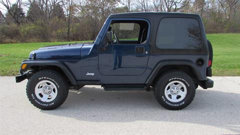 2002 Jeep Wrangler X in Big Bend, Wisconsin - Photo 5
