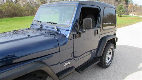 2002 Jeep Wrangler X in Big Bend, Wisconsin - Photo 12