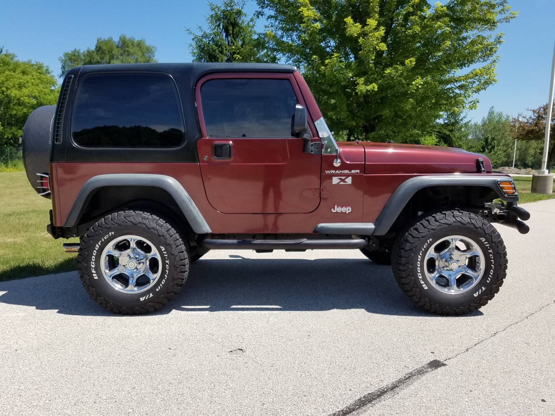2002 Jeep® Wrangler X in Big Bend, Wisconsin - Photo 138