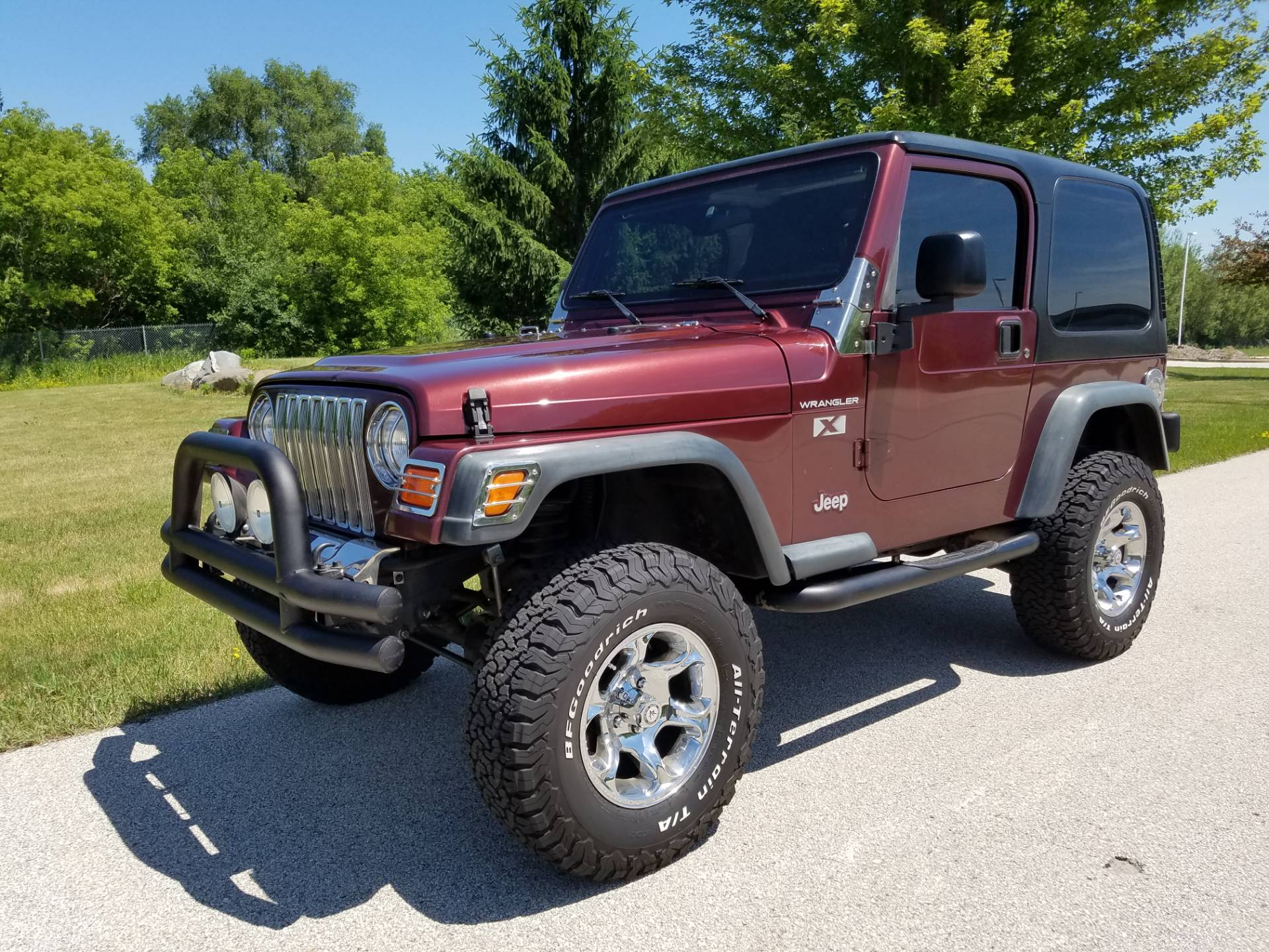 2002 Jeep® Wrangler X in Big Bend, Wisconsin - Photo 143