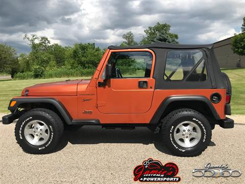 2002 Jeep® Wrangler Sport in Big Bend, Wisconsin - Photo 87