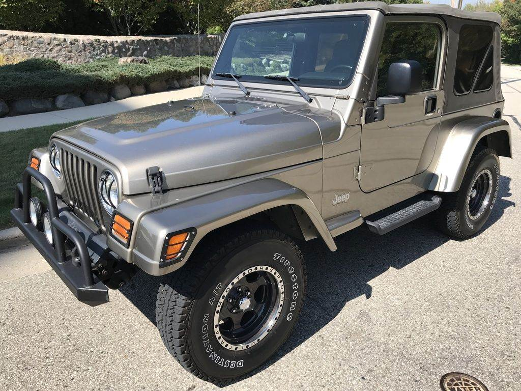 2004 Jeep Wrangler 2D Sport 4WD in Big Bend, Wisconsin - Photo 2