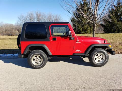 2004 Jeep Wrangler Sport in Big Bend, Wisconsin - Photo 8