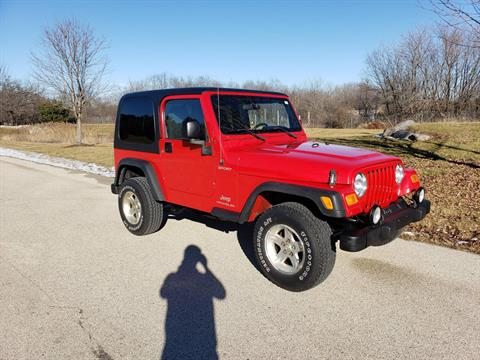 2004 Jeep Wrangler Sport in Big Bend, Wisconsin - Photo 9