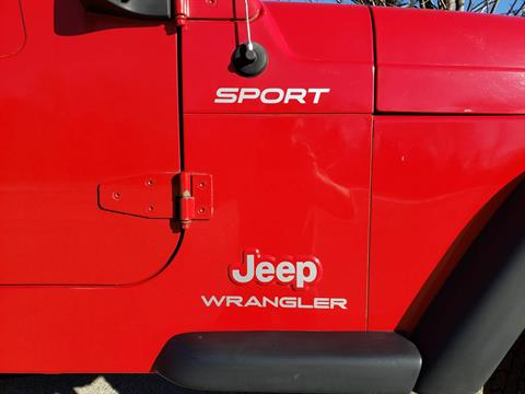2004 Jeep Wrangler Sport in Big Bend, Wisconsin - Photo 12