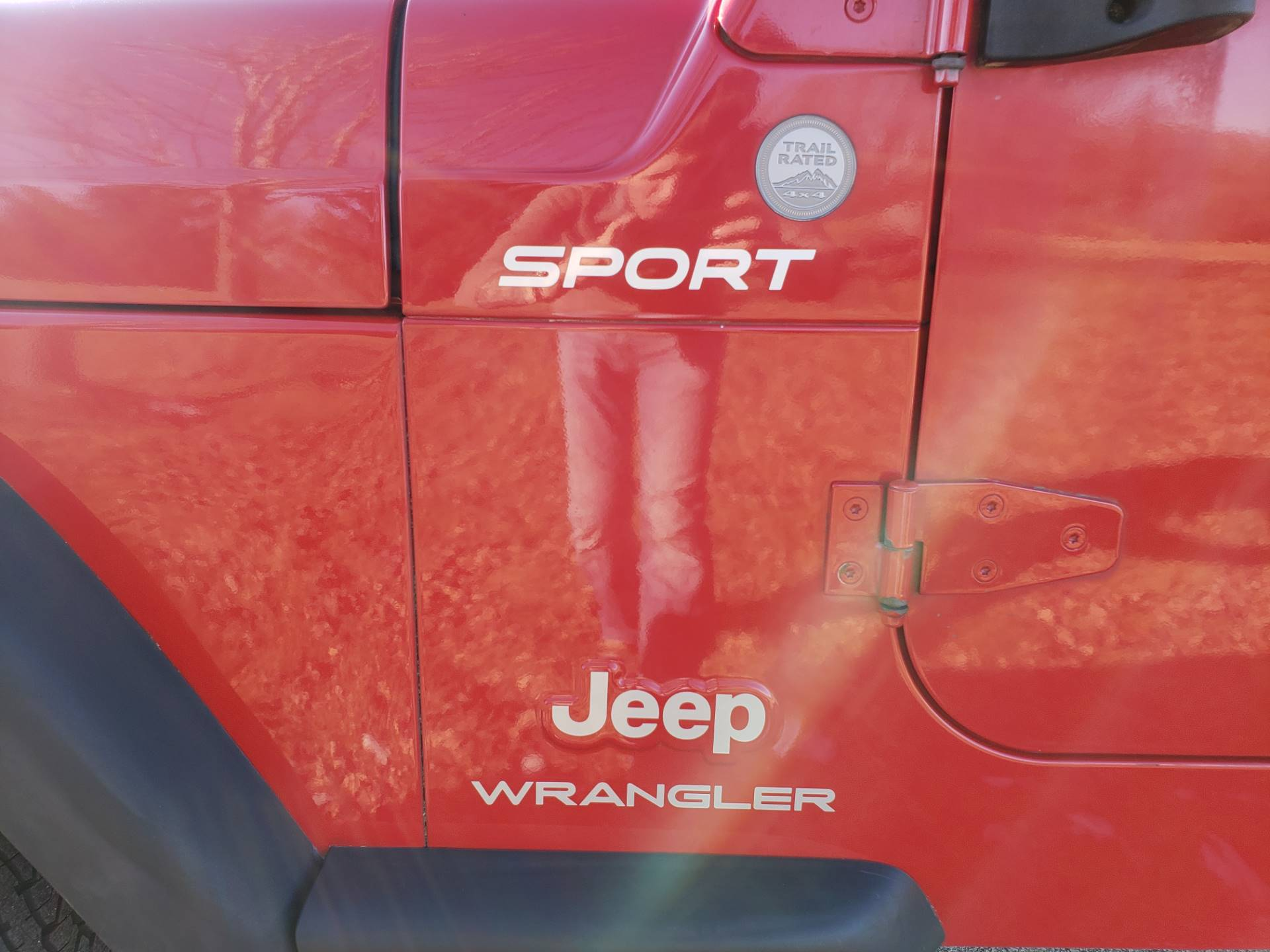 2004 Jeep Wrangler Sport in Big Bend, Wisconsin - Photo 13