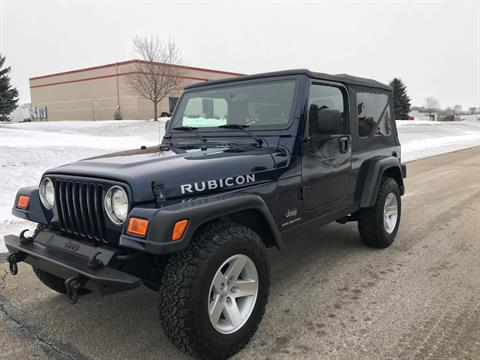2006 Jeep Wrangler Unlimited Rubicon 2dr SUV 4WD in Big Bend, Wisconsin - Photo 115