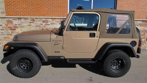 2000 Jeep WRANGLER in Big Bend, Wisconsin - Photo 4