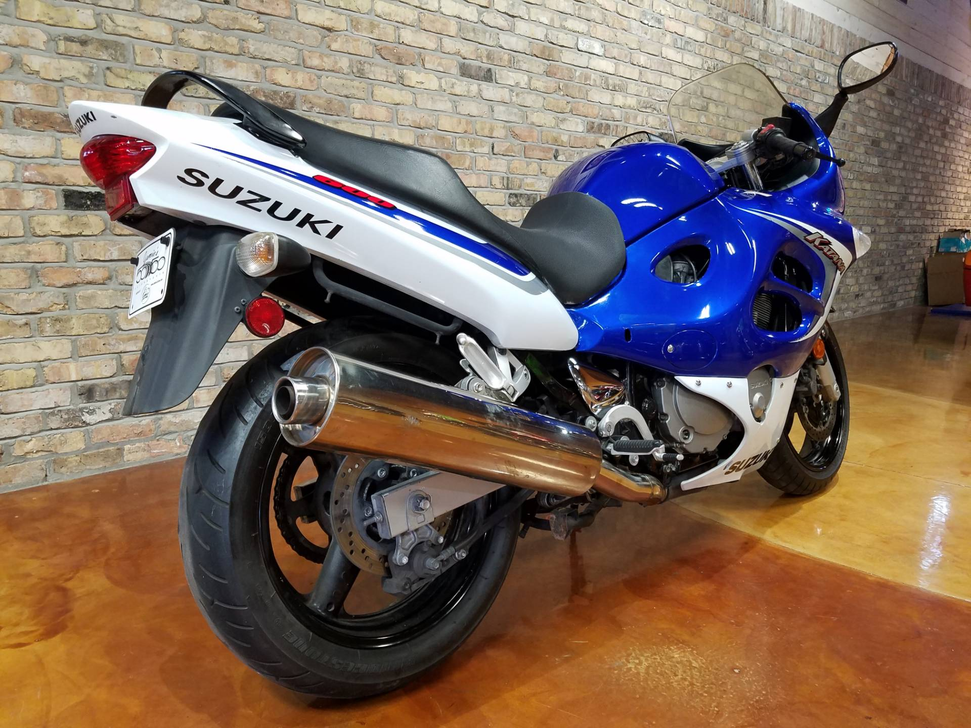 2006 Suzuki Katana® 600 in Big Bend, Wisconsin - Photo 2