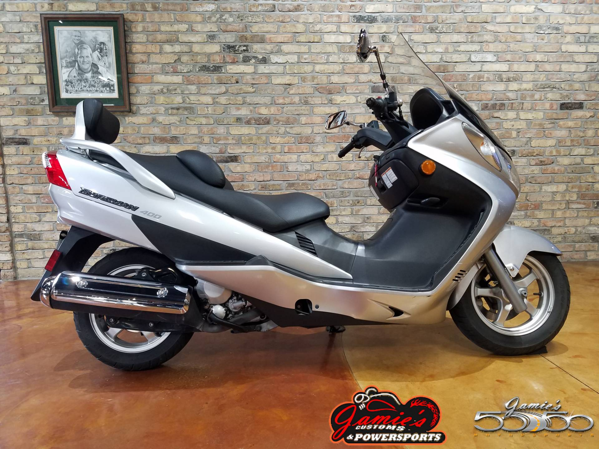 2003 Suzuki Burgman™ 400 in Big Bend, Wisconsin - Photo 1