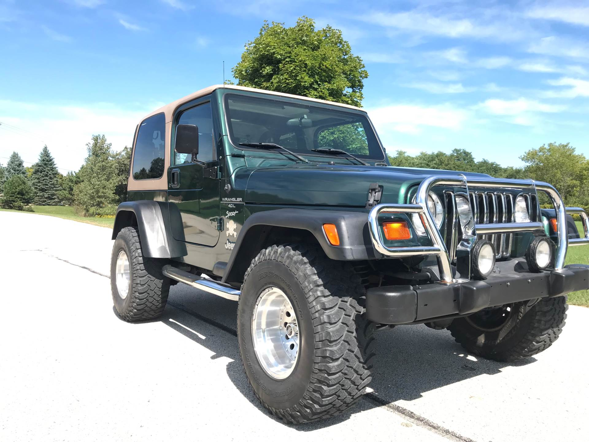 1999 Jeep Wrangler Sport 2dr 4WD SUV in Big Bend, Wisconsin - Photo 2