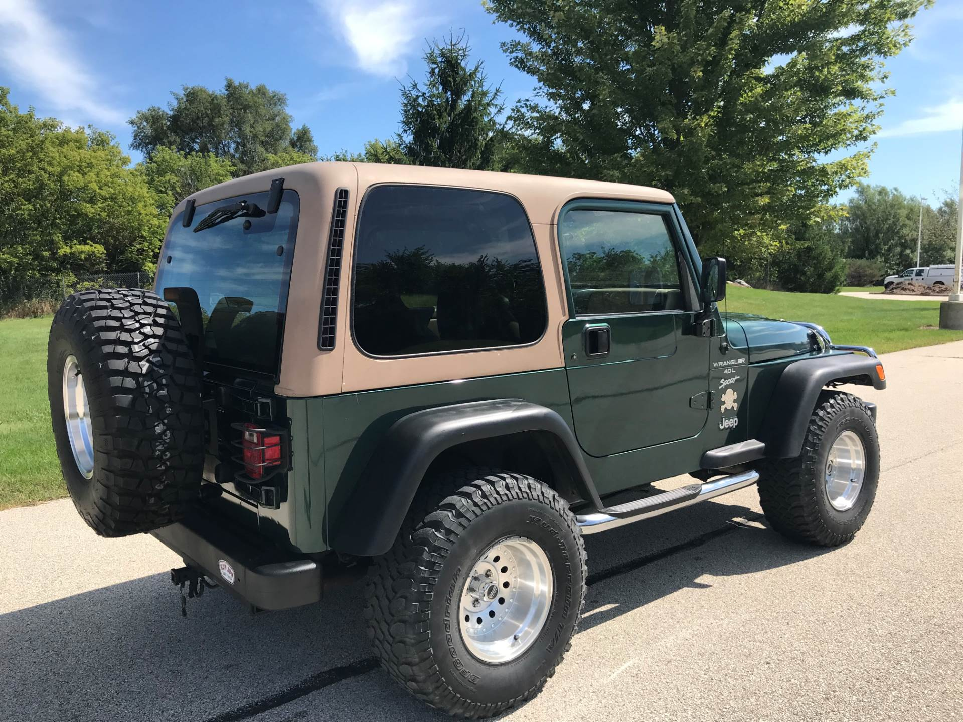 1999 Jeep Wrangler Sport 2dr 4WD SUV in Big Bend, Wisconsin - Photo 3