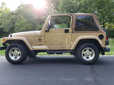 1999 Jeep Wrangler Sahara 2dr 4WD SUV in Big Bend, Wisconsin - Photo 3