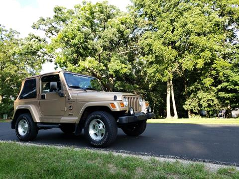 1999 Jeep Wrangler Sahara 2dr 4WD SUV in Big Bend, Wisconsin - Photo 18