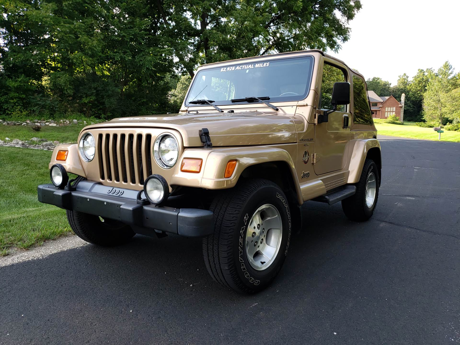 1999 Jeep Wrangler Sahara 2dr 4WD SUV in Big Bend, Wisconsin - Photo 17