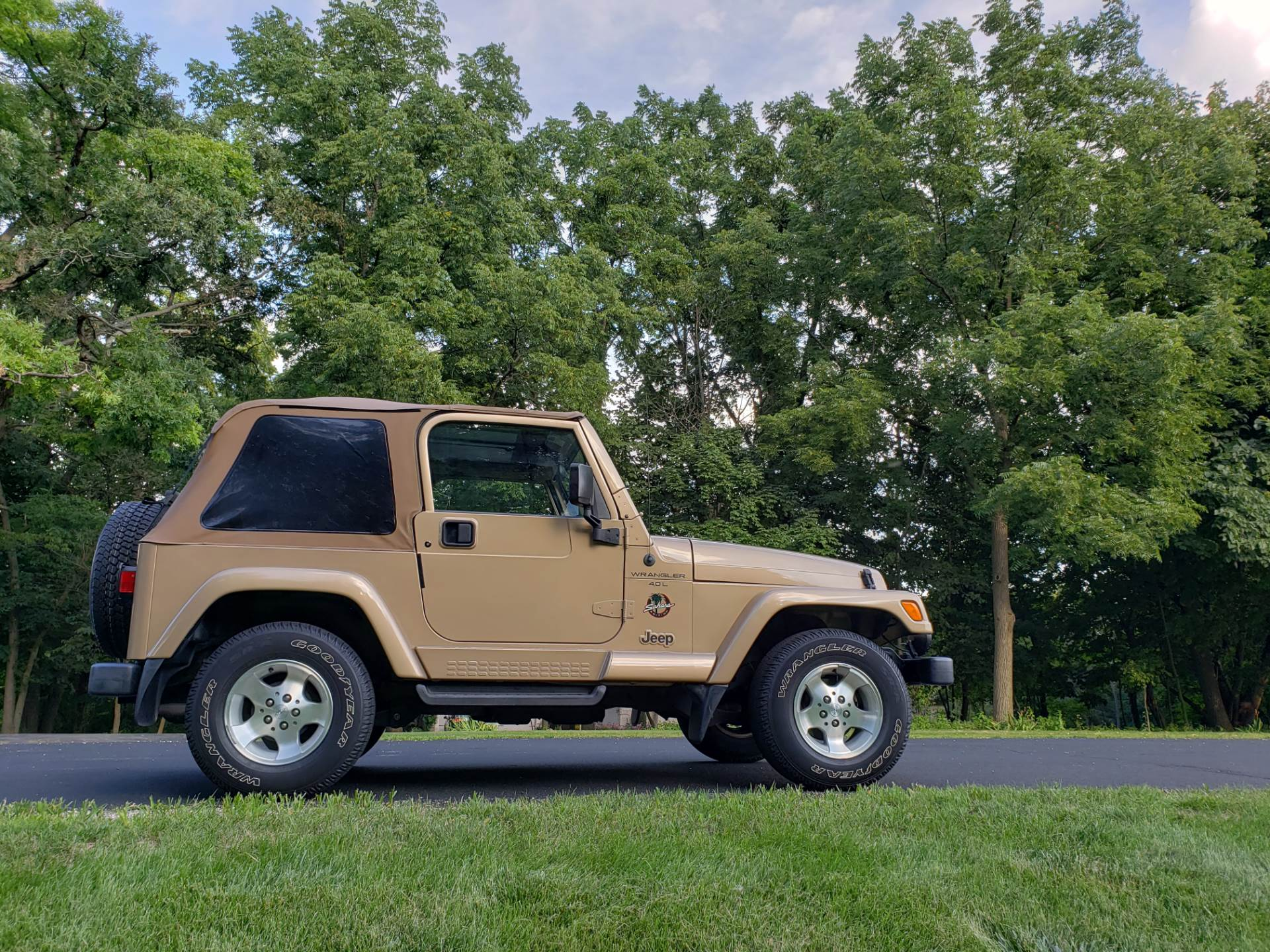 1999 Jeep Wrangler Sahara 2dr 4WD SUV in Big Bend, Wisconsin - Photo 56