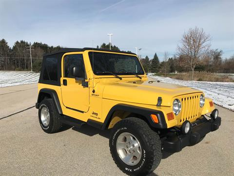 2003 Jeep® Wrangler Sport in Big Bend, Wisconsin - Photo 2