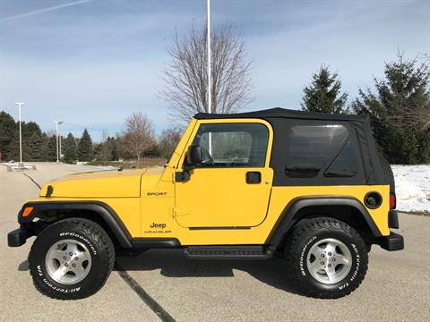 2003 Jeep® Wrangler Sport in Big Bend, Wisconsin - Photo 43