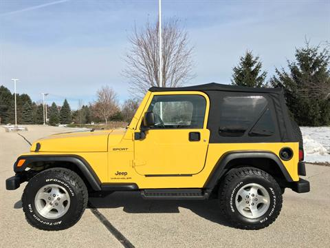 2003 Jeep® Wrangler Sport in Big Bend, Wisconsin - Photo 44