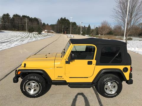 2003 Jeep® Wrangler Sport in Big Bend, Wisconsin - Photo 49