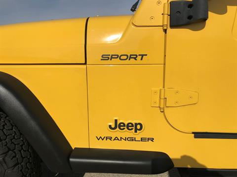 2003 Jeep® Wrangler Sport in Big Bend, Wisconsin - Photo 18