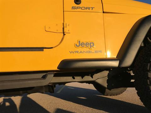 2003 Jeep® Wrangler Sport in Big Bend, Wisconsin - Photo 57