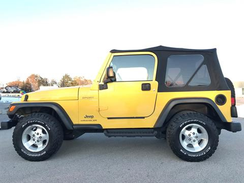 2003 Jeep® Wrangler Sport in Big Bend, Wisconsin - Photo 63