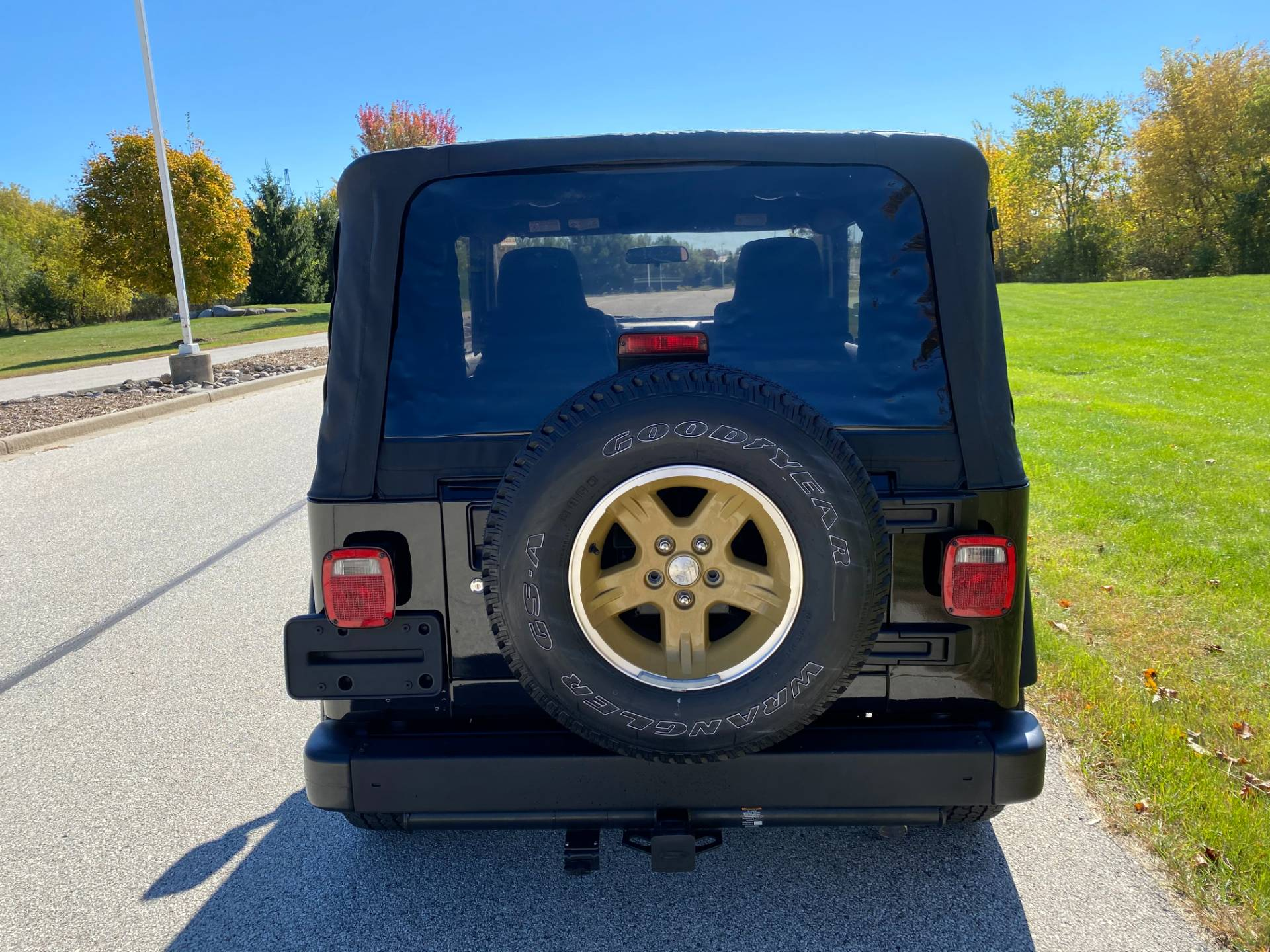 2006 Jeep® Wrangler Golden Eagle in Big Bend, Wisconsin - Photo 10
