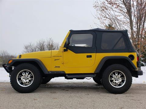 2002 Jeep® Wrangler Sport in Big Bend, Wisconsin - Photo 1