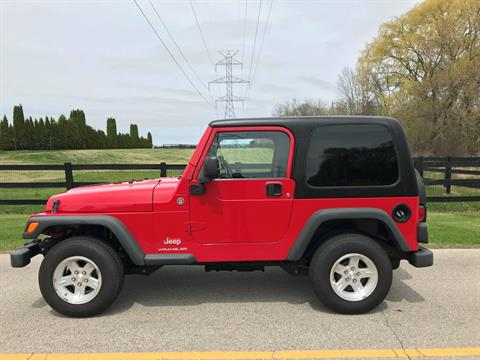 2006 Jeep Wrangler Sport in Big Bend, Wisconsin - Photo 18
